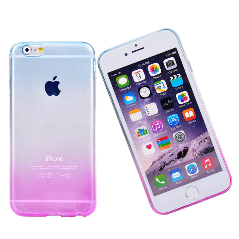 iphone 6 phone covers phone cover for iphone 6 6s transparent gradient 3077