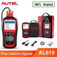Autel AL619 OBD2 Scanner Car Diagnostic Tool Car Code Reader Engine,ABS,SRS Automotive Scanner bette