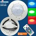 [VisWorth] 24W 36W Ha Condotto La Luce Piscina IP68 Impermeabile AC/DC 12V RGB Esterno luce subacquea Stagno Led Piscina Luce del Riflettore