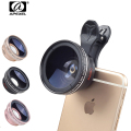 New HD Camera Lens Kit 0.45X Super Wide Angle Lens with 12.5X Macro Lens, Clip Cell Phone Lens for iPhone Samsung Xiaomi phones