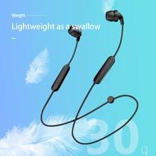 Portable mini HIFI sound quality Bluetooth neckband IPX7 waterproof stereo headphones running fitness wireless sports headphones tronsmart encore s2 bluetooth 4 1 neckband sports headphones