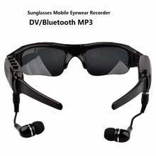 Cheaper 480P Digital Sunglasses Mini Camera Bluetooth MP3 Player DV DVR Sport Recorder Camcorder Cam for Sport Driving Outdoor