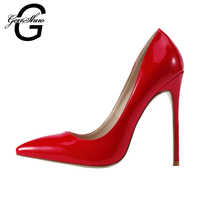 Wholesale Quality Woman High Heels 8cm 10cm 12cm Women Pumps Stiletto Thin Heel Women S Red