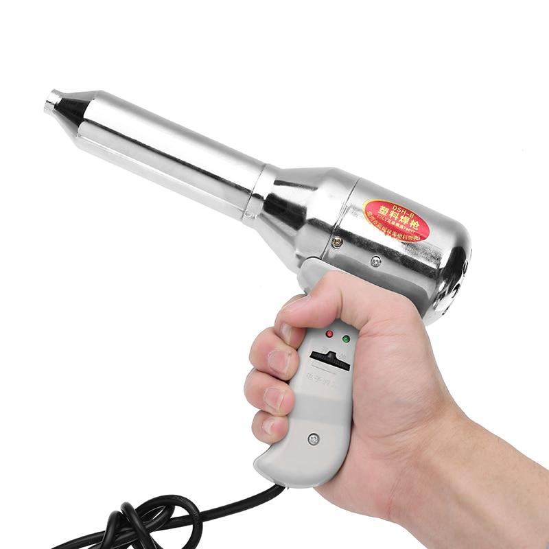 700W Plastic Welding Torch Adjustable Temperature Welding PVC Hot Air Torch Auto Parts PP Plastic Hot Air Gun Welding Equipment