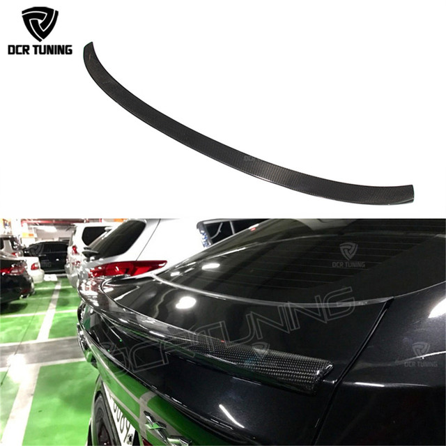 Carbon fiber spoiler For BMW X4 Spoiler 2014 2015 2016 + X4 F26 Carbon Rear Spoiler Xdrive25i xdrive28i xdrive20i X4 Rear wings
