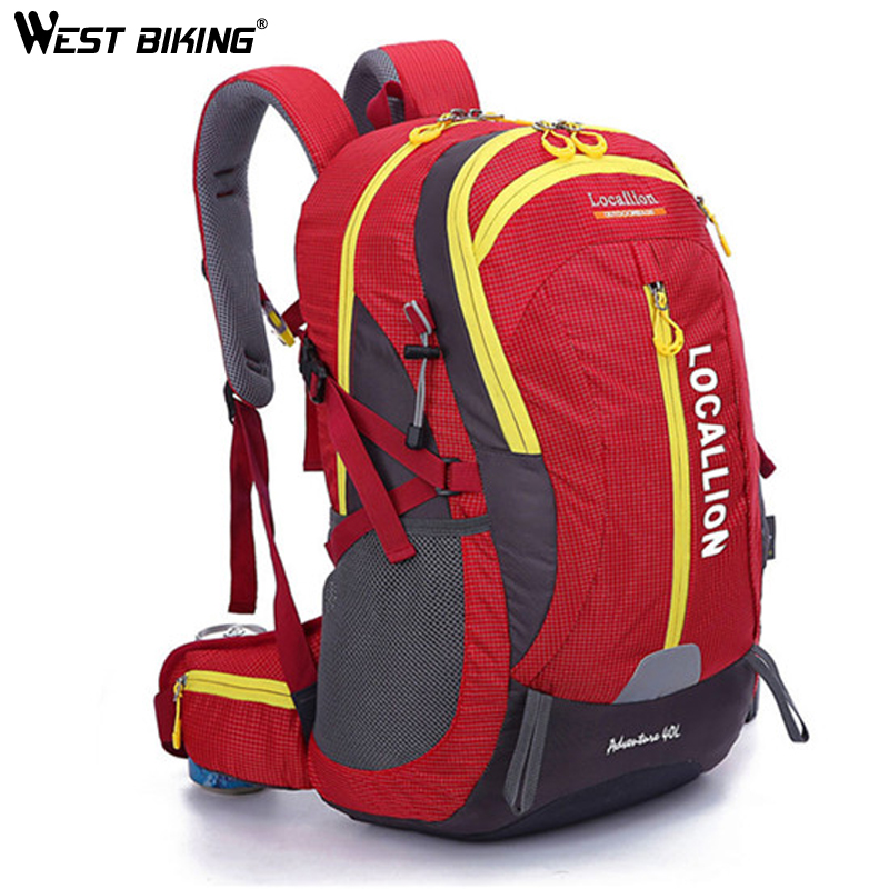 Sac à dos de grande capacité LION 40L LOCAL peut contenir des vêtements d'ordinateur portable sacs de couchage sac de pêche de Camping pour hommes sac à dos vtt
