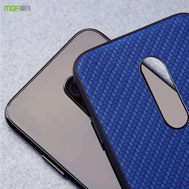 MOFi Xiaomi Pocophone F1 Weave Grain Design Back Case Cover