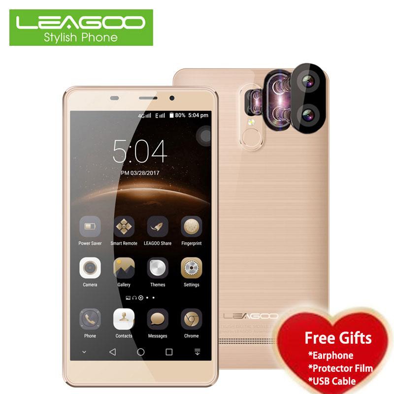Leagoo mt6737 m8 pro smartphone de 5.7 pulgadas hd quad core 2 gb de ram 16 GB R