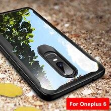 One plus 6 Case Oneplus 6 Cover Shockproof Transparent Capa