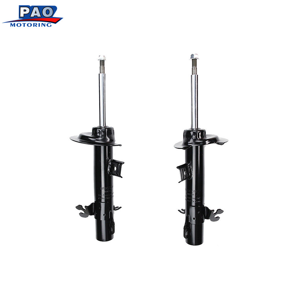 2PC New Front Strut Shock Absorber Left and Right Pair Set Fit For 2002-2006 Mini Cooper OEM 72266,72265 Car-styling auto parts kyb car left shock absorber 338048 for citroen lifan 520 auto parts