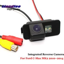 Liandlee Car Backup Parking Camera For Ford C-Max MK2 2010~2014 Rear View Rearview Reverse Camera / Integrated SONY CCD HD liandlee car reverse camera for toyota sequoia mk1 mk2 rear view backup parking camera sony ccd hd integrated high quality