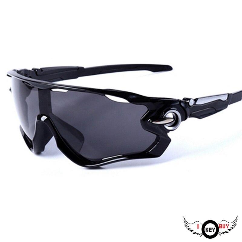 331bda09b9080a Ik Sleutel Kopen 1 ST Cycling Brillen Outdoor Mountainbike UV400 Zwart