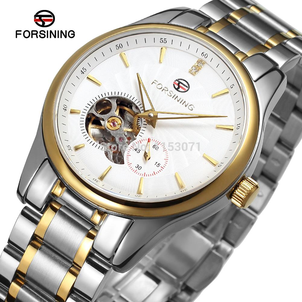 FSG9406M4T1 Men's Automatic stainless steel original luxury watch with stainless steel band free shipping gift box promotion цена