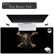 XGZ Black Bottom Personality Pattern Game Player Mouse Pad Cold Keyboard Pads Game Notebook Desktop Mat Can Be Cleaned(China)