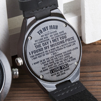 BOBOBIRD Engraved Men Watches Custom Wood Watch Engrave Ebony Leather Handsome Gift  Anniversary Groosman Gifts