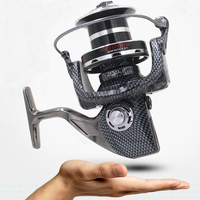 High end FDDL 9000 10000 type 12+1BB all metal line cup spinning reel large long shot wheel fishing reel carretilha para pesca
