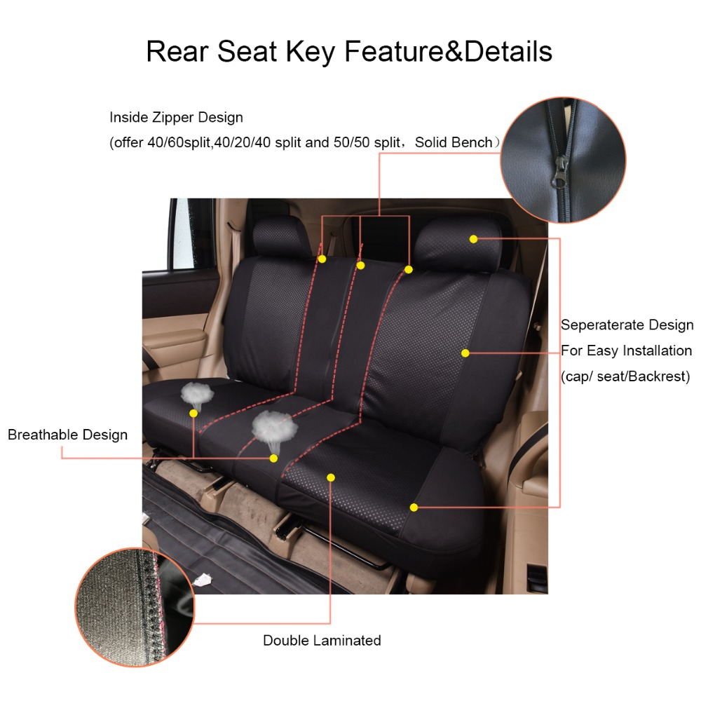 Image 4 - Auto pass Polyester Car Seat Covers Universal 4 Color Seat Covers Cushion Interior Accessories For Volkswagen mazda cx 5 lada-in Automobiles Seat Covers from Automobiles & Motorcycles