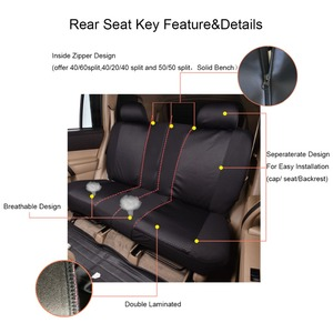 Image 3 - Auto pass Polyester Car Seat Covers Universal 4 Color Seat Covers Cushion Interior Accessories For Volkswagen mazda cx 5 lada