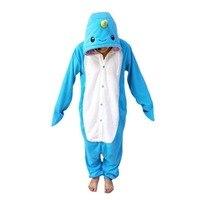 New Unisex Adult Narwhal Pajamas Sleepsuit Onesie Sleepwear Pyjamas Jumpsuit Party Cosplay Costume