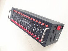 Самый дешевый 16 Каналов GSM Модем Бассейн Для Сыпучих Отправка СМС поддержка изменения Imei Quad band 900/1800/850/1900 МГц