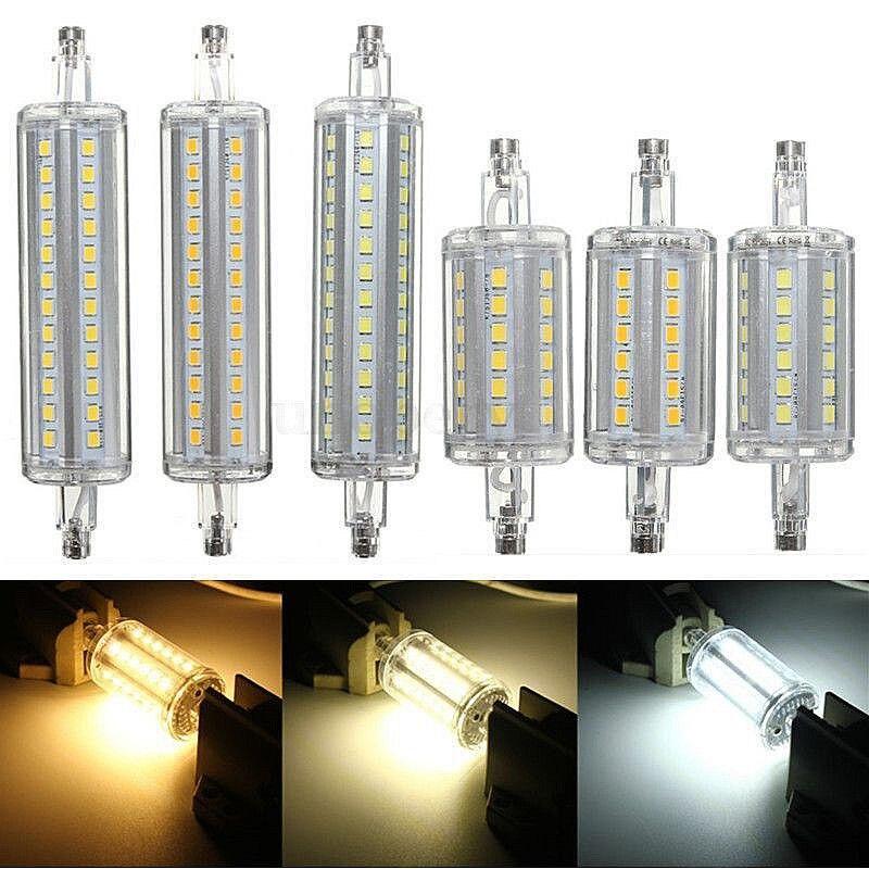 R7S LED 5W 10W 78mm 118mm SMD 2835 LED Decorative Flood Light Lamp Spotlight Light Bulb