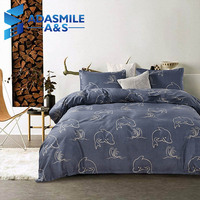 Home Textile Childrens Bed Dolphins Bed Linens Set Rainbow Color Unicorns US Twin Queen King Bedding Duvet Cover Set Kids Bed
