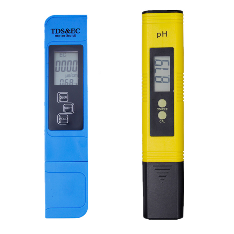 Digital PH Meter 0.0-14.0 PH TDS EC Meter 3 In1 Temperature Tester 0-9000 ppm Water Quality Automatic Monitor Tool 40% off 4 in1 lcd digital temperature sunlight aquarium ph controller ph meter of soil acidity toprak analiz tds ec nitrate tester