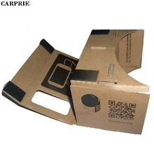 CARPRIE DIY Cardboard 3D Vr Phone Virtual Reality Viewing Glasses For Google for Other Brand Phones Smart phones With 4-7 Inches