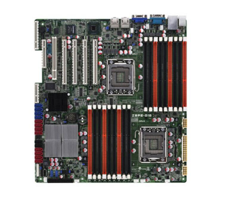 ASUS Z8PE-D18 Оригинал материнская плата DDR3 LGA 1366X58 Desktop motherborad Бесплатная доставка телефонной платы
