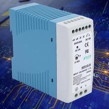 Din Rail Power Supply Single Output Switch Power Supply MDR-40-24 Single Output Switch Power only 11 11 mean well mdr 60 12 12v 5a meanwell mdr 60 60w single output industrial din rail power supply [hot1]