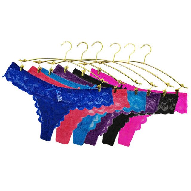 S-XL women g-string sexy lace underwear