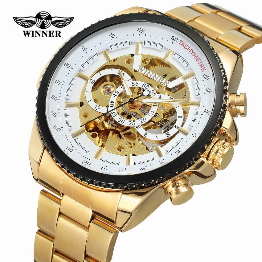 HTB1mC.mB8mWBuNkSndVq6AsApXah New Hot Winner 0352 Mens Watches Military Sport Clock Male Top Brand Luxury Skeleton Clocks Automatic Mechanical Steel Men Watch