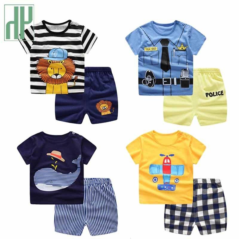 Children Clothing Kids Boys Girls Jumper Pants Sport Summer Costume Cartoon New