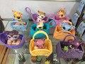8 шт./1 компл. petshop Игрушки дома littest pet shop Фигурку Фильм & ТВ Juguetes Brinquedos Игрушки Для дети