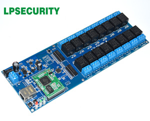 Image 3 - LPSECURITY LAN WAN RJ45 TCP/IP Industrial Network 16 Channels relay board controller/automation remote control switch module