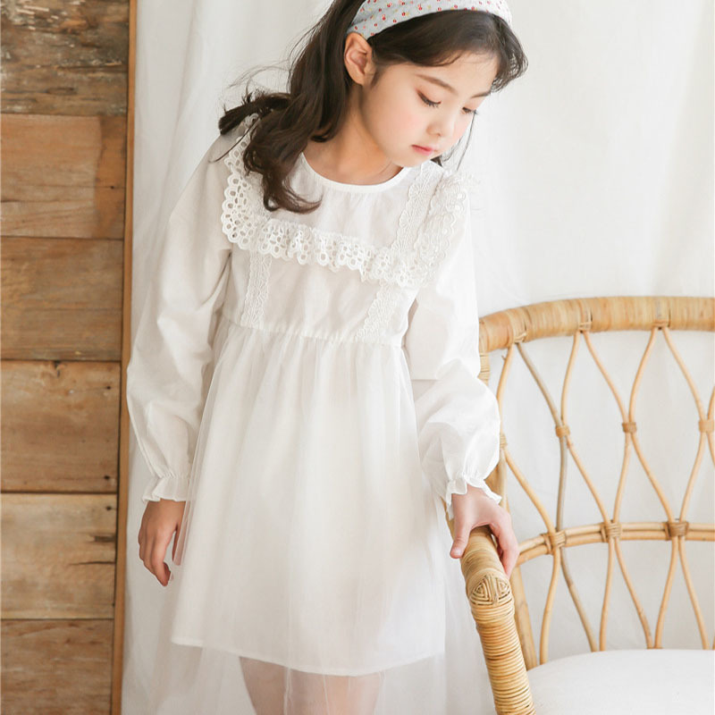 cc7173620bb Buy baby girl spring patchwork dress children big and get free shipping on  AliExpress.com