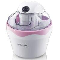 220V Bear Mini Electric Ice Cream Machine Household Frozen Sorbet Maker For DIY Fruit Ice Cream