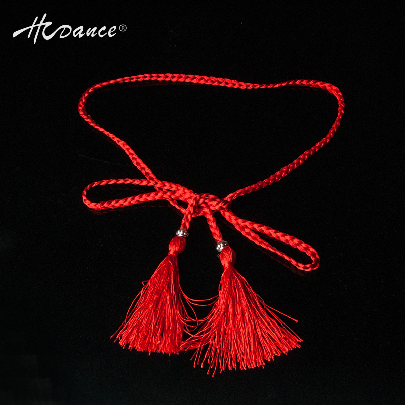 2016 HCDance New Latin Dress Accessory Spinal Cord Belt Professional Jewelry Accessories New Dance Cord Belt Latin Clothing A04(China)