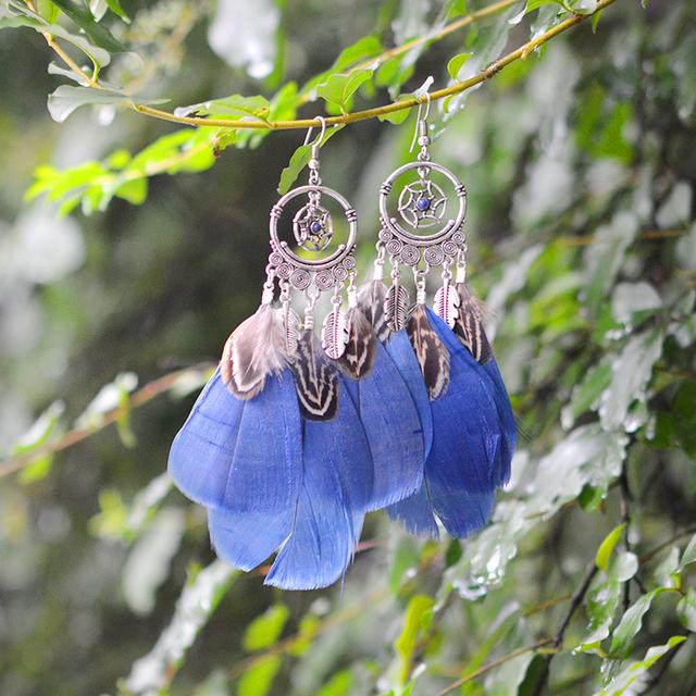 Dream Catcher Drop Earrings