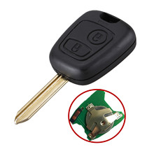 2 BTN Remote Car Key Shell Case Fob for Citroen Saxo Berlingo Xsara Picasso Control 433 Electronic 46 Chip PCF7961 Car Key FOB