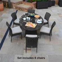 Hot Sale leisure ways monaco heavy-duty wicker used restaurant table and chair(China)
