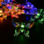 Navidad Año Nuevo decoración de la boda LLEVÓ luces de la secuencia de la batería de energía solar de la mariposa 1.8m20LED luces de hadas