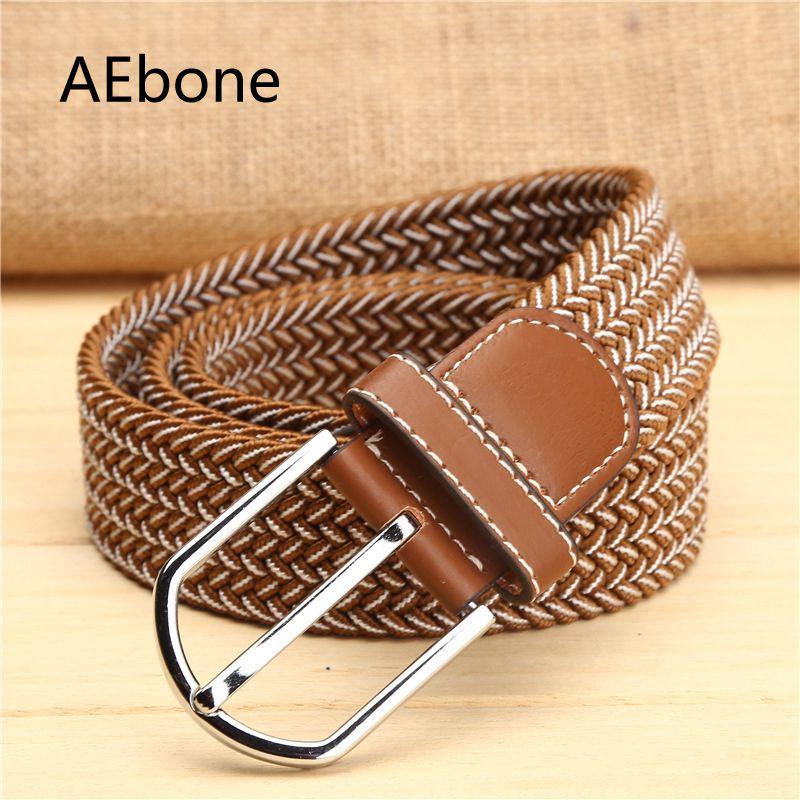Punctual Aebone Stretch Elastic Western Cowboy Belt For Kids Kemer Children Canvas Belt Boy Girl Belt For Jeans Yb011 Apparel Accessories