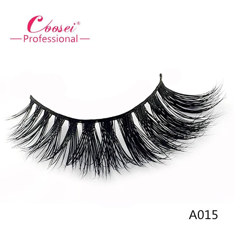High Quality 100 Real Mink Eyelash Handmade 3D Mink Lashes Eyelash Extensions Individual A015