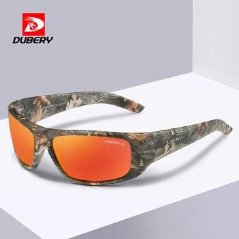 279da2553e Gafas de sol polarizadas estilo deportivo DUBERY hombres marca TAC lentes  de conducción cuadrada gafas de sol ultraligeras gafas de hombre Oculos XH52