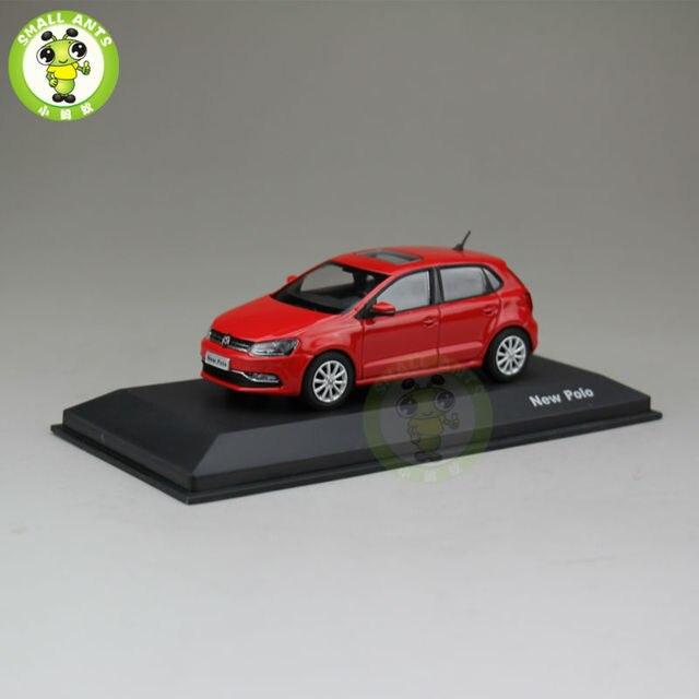 1:43 Масштаб VW Volkswagen new поло Литья Под Давлением Модели Автомобиля Игрушки красный