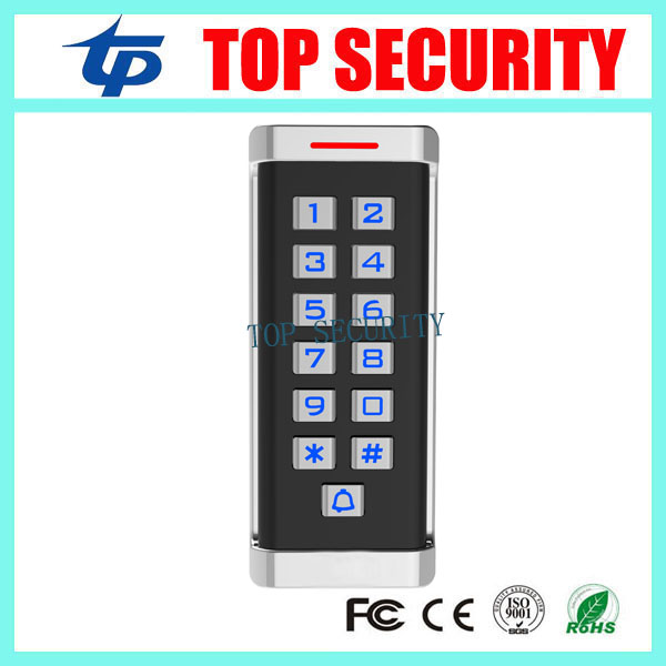 Good quality metal access controller IP65 waterproof 2000 users standalone RFID/MF card password access control metal rfid em card reader ip68 waterproof metal standalone door lock access control system with keypad 2000 card users capacity