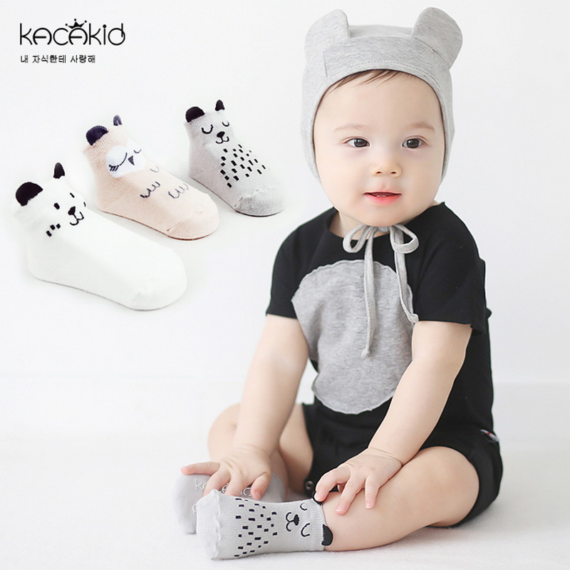 2016 New Arrival Newborn Cartoon Socks Baby Cotton Socks Non-slip High Quolity Socks Shipping Free