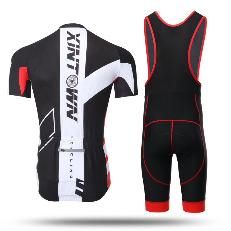 Купить с кэшбэком Mens Cycling Short Sleeve Jersey Bib Sets Bike Wear  Men's Summer Breathable Bicycle Clothes Sportswear Cycling Club Team Race