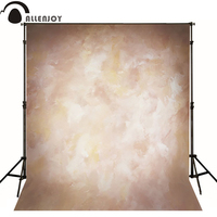Allenjoy Thin Vinyl Cloth Photography Backdrop Yellow Indoor Photography Background Cloth Computer Print Can Customized MH